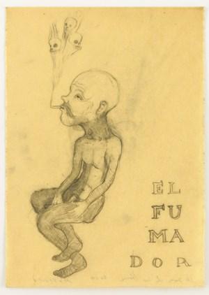 EL FUMAPOR by Sandra Vásquez de la Horra contemporary artwork