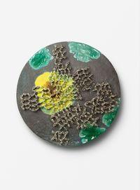 Wargame Tondo VIII by Johan Creten contemporary artwork sculpture