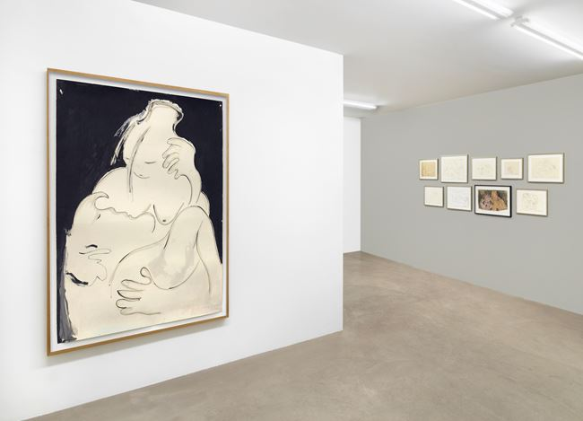 Exhibition view: Isabella Ducrot, Erotici, Capitain Petzel, Berlin, (26 February–17 April 2021). © the artists. Courtesy Capitain Petzel, Berlin. Photo: Jens Ziehe.