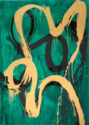 Doth Suffer a Sea Change into Something Rich and Strange by Max Gimblett contemporary artwork