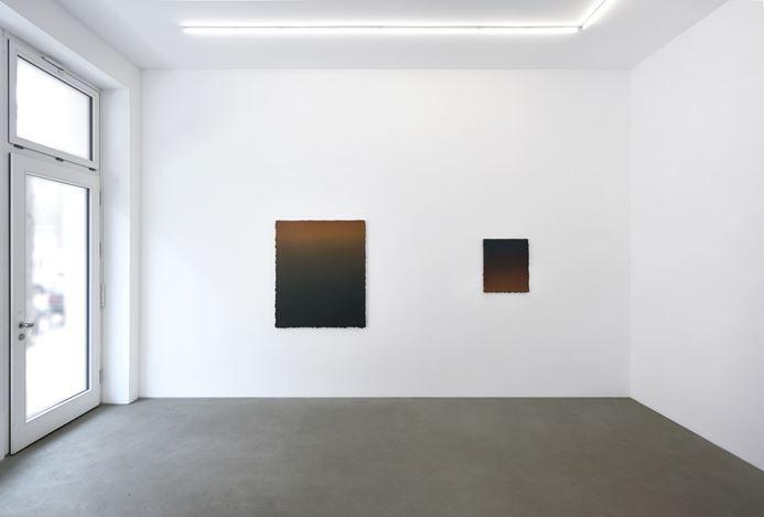 Exhibition view:Vincenzo Schillaci, Rising of the Moon, Galerie Rolando Anselmi, Berlin (16 February–10 March 2021). Courtesy Rolando Anselmi. Photo:Riccardo Malberti.