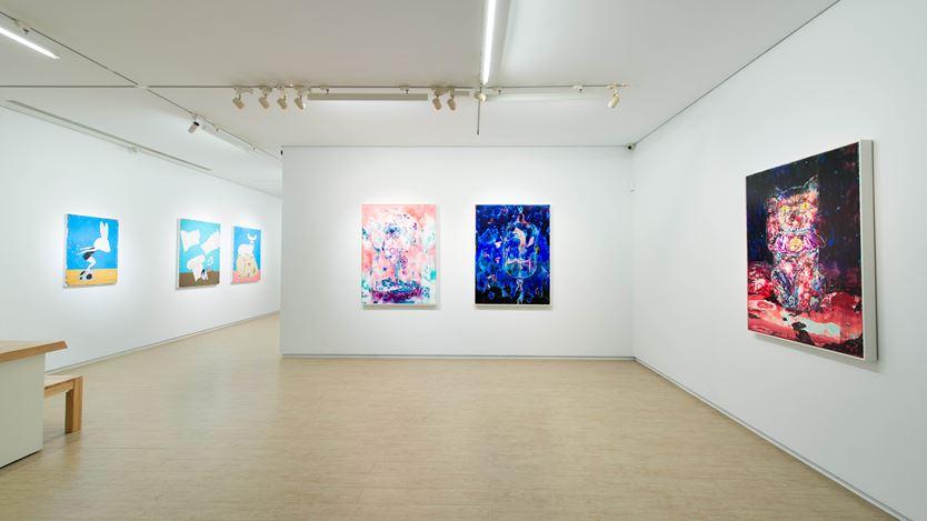 Exhibition view: Group exhibition, Gallery Artists Autumn Show,Lin & Lin Gallery, Taipei (17 October–21 November 2020). Courtesy Lin & Lin Gallery.