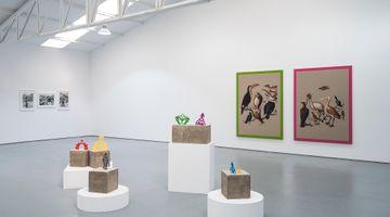 Contemporary art exhibition, Group exhibition, Bum bum ba ye [Under pressure] at Sabrina Amrani, Sallaberry, 52, Madrid