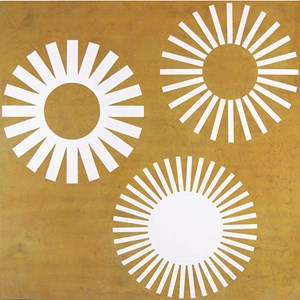 Obsolete Sunburst Logos by Peter Atkins contemporary artwork