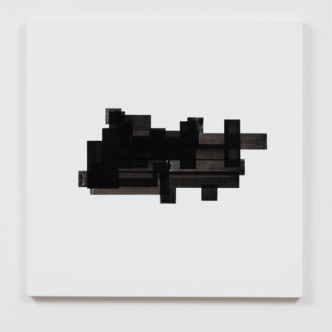 Black Accumulation by Simon Morris contemporary artwork