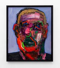 Smiling Head Pt. 2 by Georgina Gratrix contemporary artwork painting