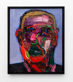Smiling Head Pt. 2 by Georgina Gratrix contemporary artwork