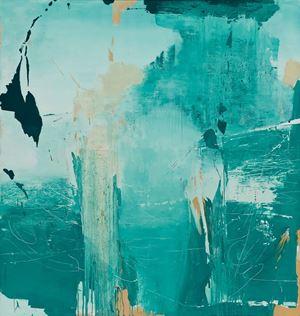 Green 12-6 by Feng Lianghong contemporary artwork