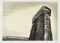 Stonehenge III by Henry Moore contemporary artwork print