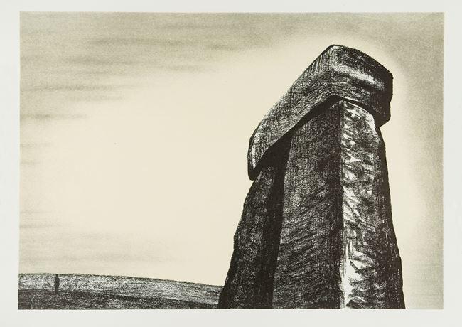 Stonehenge III by Henry Moore contemporary artwork