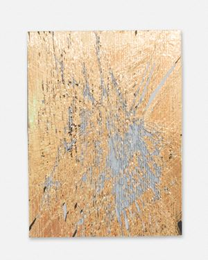 Luxury Dust (Gold) by Cheryl Donegan contemporary artwork