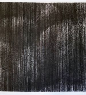 untitled charcoal IV (inside out) by Sam Harrison contemporary artwork