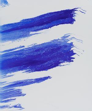 Blue AC by Yan Hongchi contemporary artwork