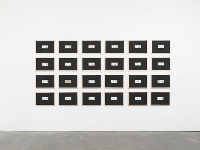 Over Economy Yen 240000 by Tatsuo Miyajima contemporary artwork