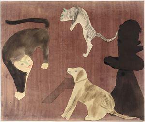 Cat Dog Cat by Jockum Nordström contemporary artwork