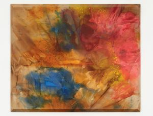 Upper Red by Sam Gilliam contemporary artwork
