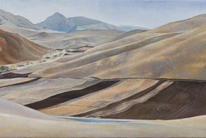 Qilian mountains 1 祁連之一 by Lu Liang contemporary artwork