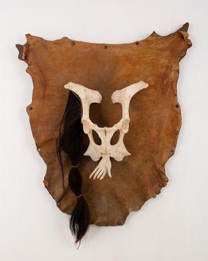 Maschera by Daniel Spoerri contemporary artwork