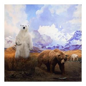 Mama Bear, Papa Bear and Baby Bear by Anne Zahalka contemporary artwork