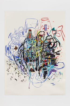 5.12.19.2 by Elliott Hundley contemporary artwork