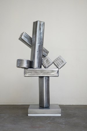 A Study on Slanted & Hyperbolic Constitution – Cubi XIX of David Smith by Gimhongsok contemporary artwork
