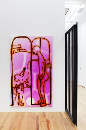 Killing Neighbor by Hadi Fallahpisheh contemporary artwork