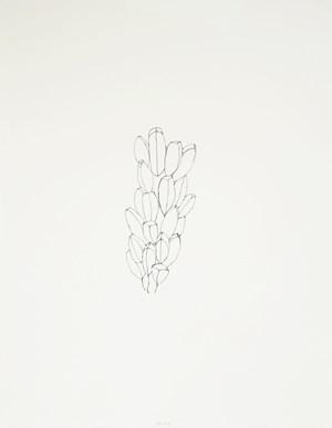 Seeds and Tracks, #4 by Jürgen Partenheimer contemporary artwork