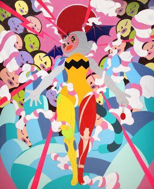Super Bad by Cowper Wang contemporary artwork