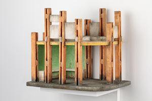 Bus Queue Shelter (Sample 5) by Sahil Naik contemporary artwork