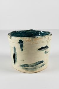 Untitled Small Planter 3 by Rashid Johnson contemporary artwork ceramics