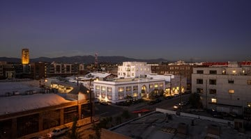 Hauser & Wirth contemporary art gallery in Los Angeles, USA