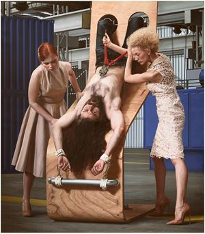 Inverso Mundus, Inquisition or Women's Labor#02 by AES+F contemporary artwork