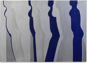 Walking Figure by Susan Weil contemporary artwork