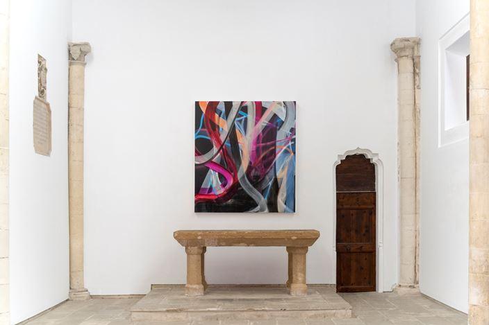 Liliane Tomasko, a dream of: RISING DARKNESS (2019). Exhibition view: Liliane Tomasko,Amygdala, KEWENIG, Palma (27 June–14 September 2019). Courtesy KEWENIG. Photo: Bruno Daureo.