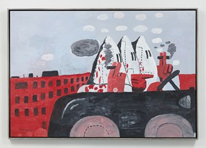 Riding Around by Philip Guston contemporary artwork painting