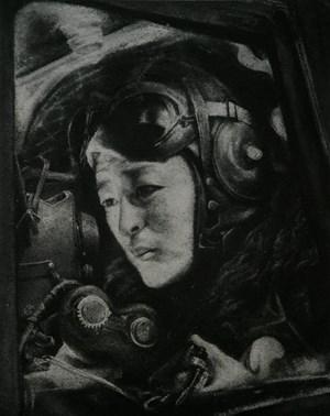 Pilot by Zhang Huan contemporary artwork