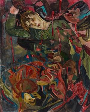 A rising fever by Hernan Bas contemporary artwork