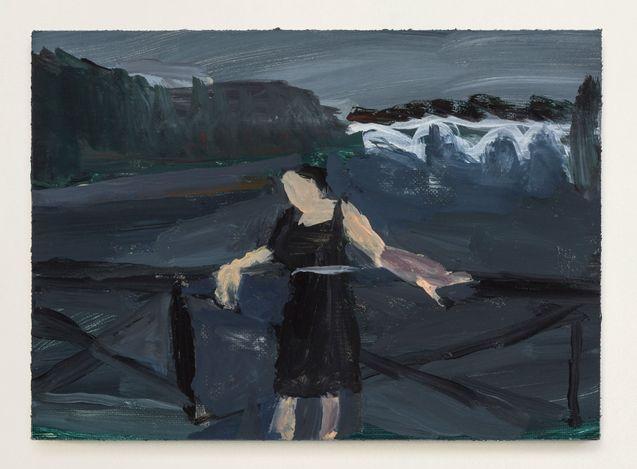 Grandma Jean #3, 2021. Oil on primed linen panel, 5 x 7 in.  Courtesy Thomas Erben Gallery.