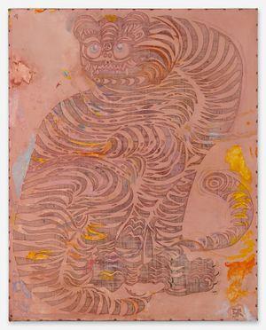 Tiger by Sophie Reinhold contemporary artwork