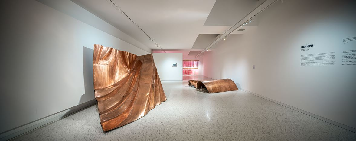 Exhibition view: Danh Vo,See Through History and Look into the Future, Winsing Arts Foundation, Taipei (16 January–5 April 2020). Courtesy Winsing Arts Foundation.