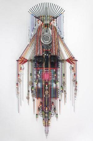 Huntsman Series (Portrait of a Woman 3) by Anne Samat contemporary artwork