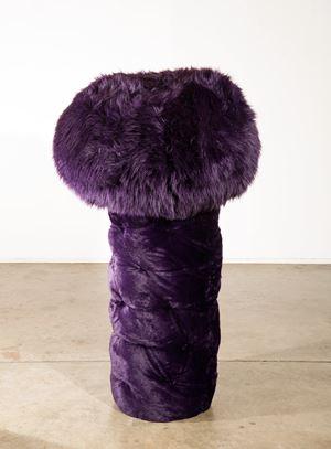 Purple Tree by Kathy Temin contemporary artwork sculpture