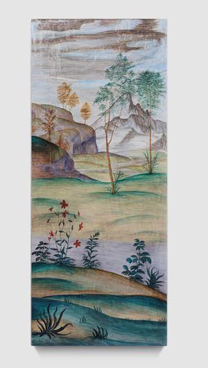 Landscape Portrait-Luini 01 by Dong Dawei contemporary artwork painting