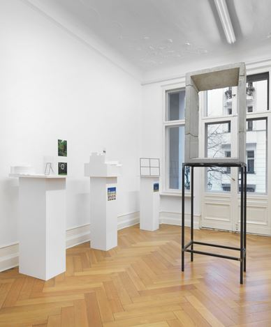 Exhibition view: Isa Genzken, Projects for Outside, Galerie Buchholz, Berlin (27 November 2018–26 January 2019). Courtesy Galerie Buchholz.