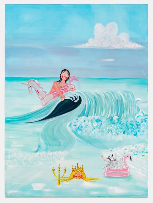 Young Poseidon by Oh de Laval contemporary artwork