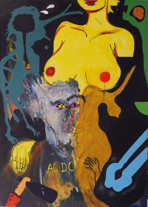 Hero of Yesterday by David Lehmann contemporary artwork painting