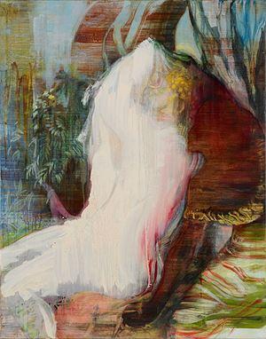 Handmaiden (after Titian) by Adrienne Gaha contemporary artwork