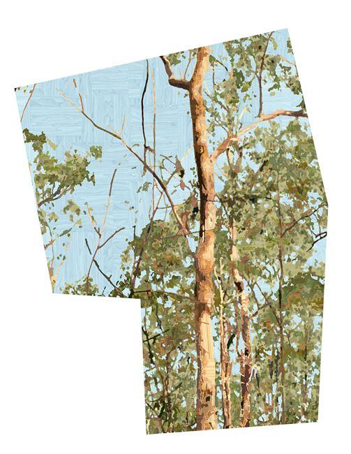 D.121 Golden Summer 1 by Gary Carsley contemporary artwork