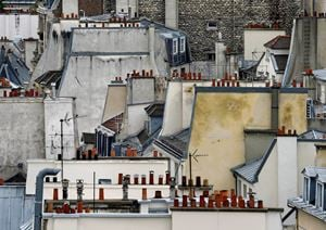 Paris Rooftops #1 by Michael Wolf contemporary artwork