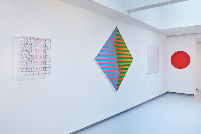 Exhibition view: Group Exhibition, Colorful!, Galerie Denise René, Paris (16 July–3 October 2020). Courtesy Galerie Denise René.